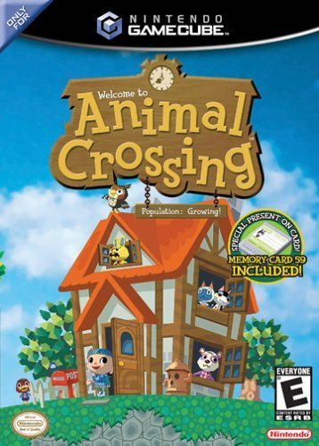 [Animal Crossing Game Case]