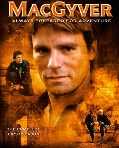 [MacGyver Season 1 DVD case]