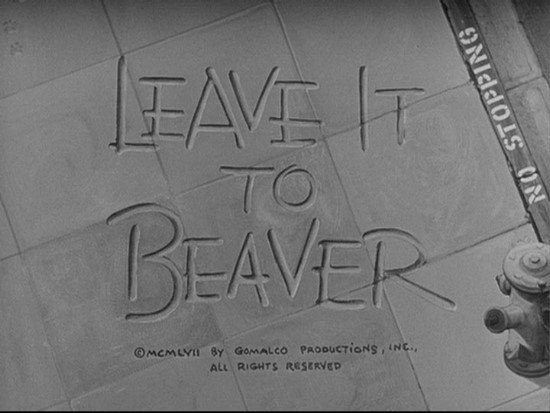 [Leave it to Beaver]