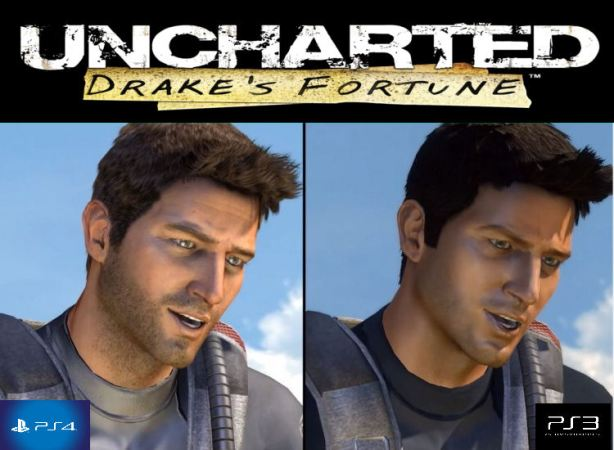 uncharted 1 comparison