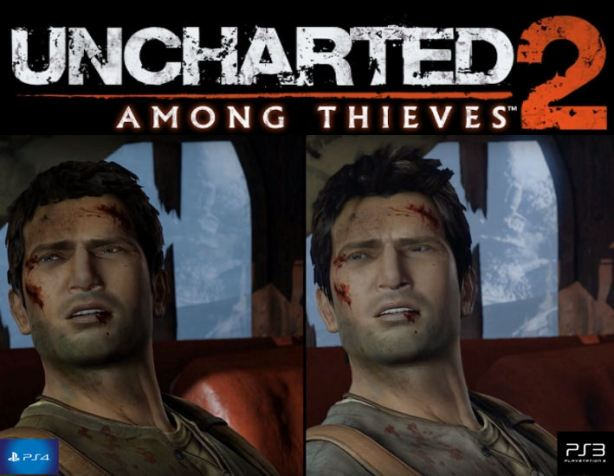 uncharted 2 comparison