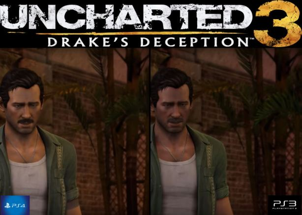 uncharted 3 comparison
